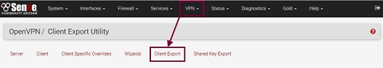 Client Export