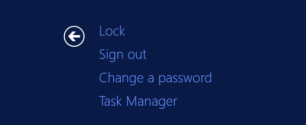 Change a password