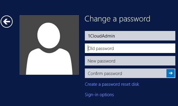 Измените пароль