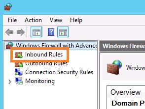 Брандмауэр Windows режим повышенной безопасности